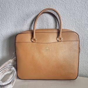 NWT coach laptop bag